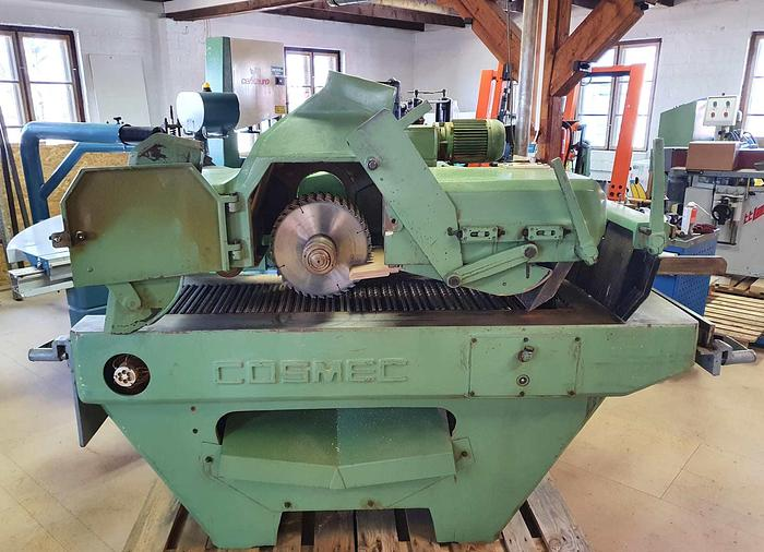 Used 1990 COSMEC Multiripsaw SM320