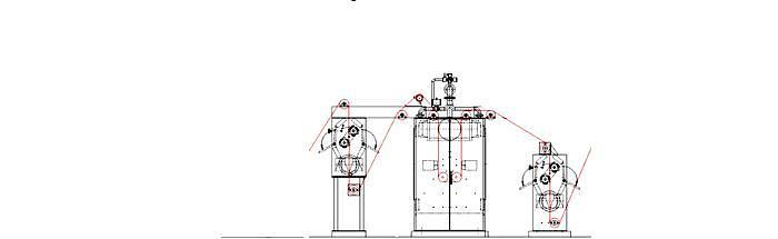 OSTHOFF singeing machine