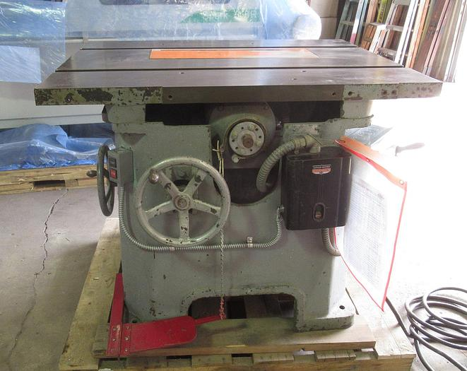 Used Northfield Heavy Duty Industrial 5 HP Table Saw