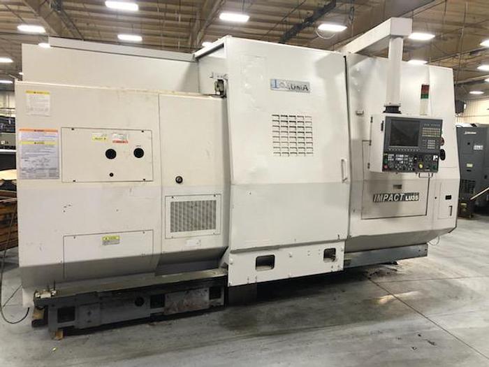 Used OKUMA LU 35 4 Axis  CNC Turning Center
