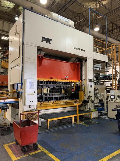 "400 ton PTC 120""x60"" SSDC Stamping Press"