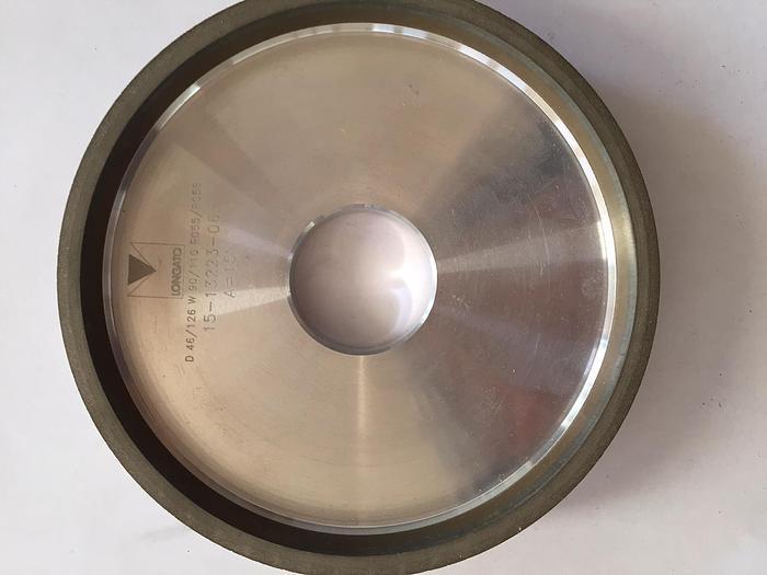 PER DORSO:Mola diamantata 11AA9 125 5 6 18 D46/126 foro 32