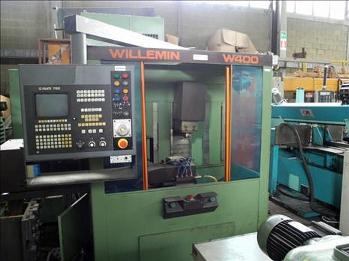 Usata Centro di lavoro verticale Willemin W 400