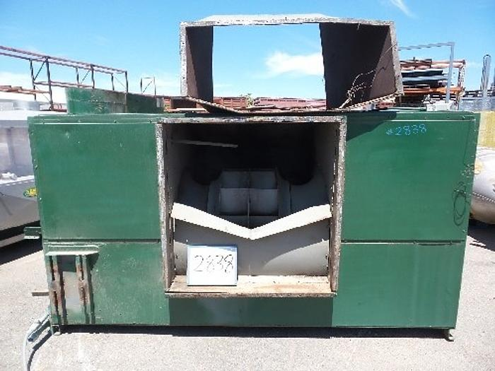 Used Trane Gas Fired Burner Cabinet For Dryer