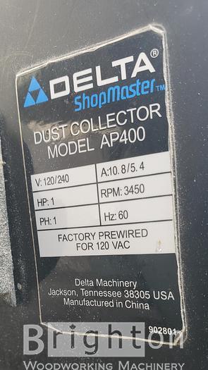 2006 Delta AP 400 Dust Collector