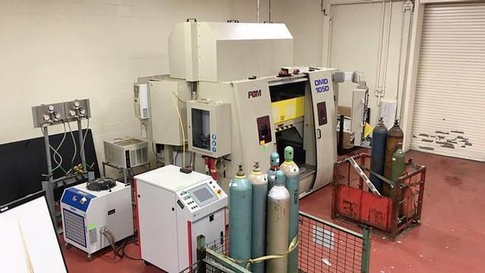 DMD 5-Axis Direct Metal Deposition Fiber Laser Machine