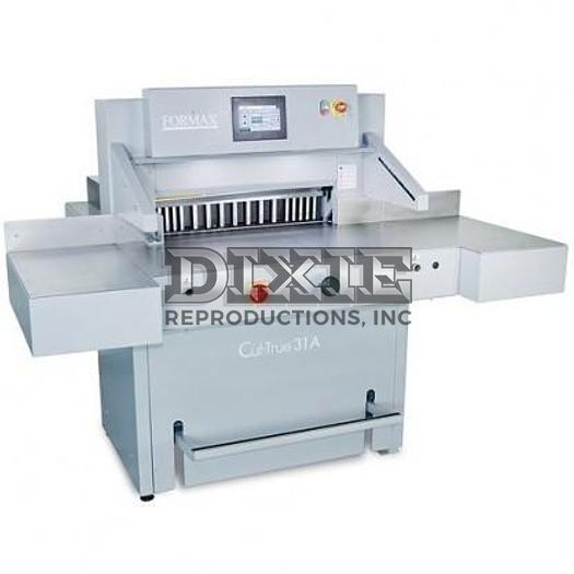 Cut-True 31A: 28'' Fully Programmable Electric Guillotine Cutter