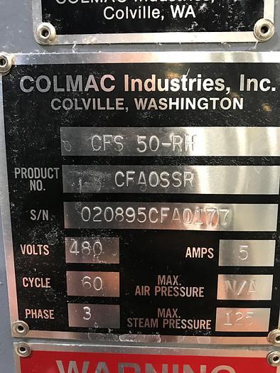 COLMAC FINISHING TUNNEL