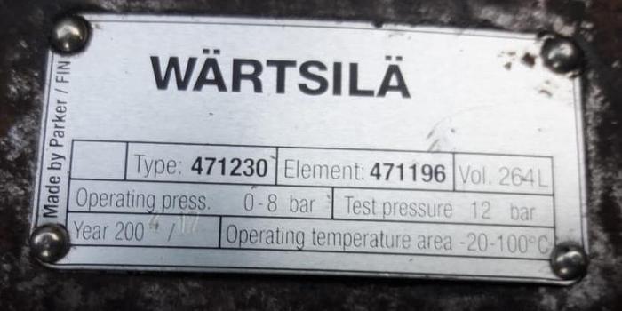 6.5 MW 2004 Used Wartsila 16V32LN-CR HFO Generator Sets