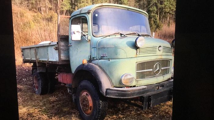 1980 MERCEDES NOSE 1413 4X4 3 WH