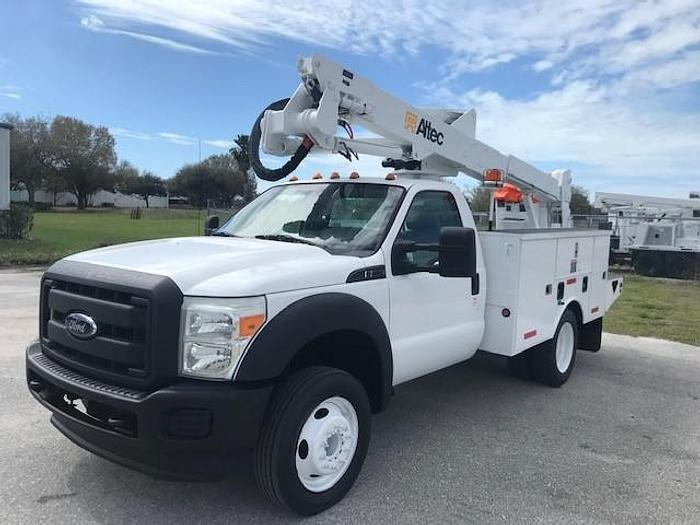 Used 2011 Ford F550 Altec AT37G 42ft Bucket Truck - C23115