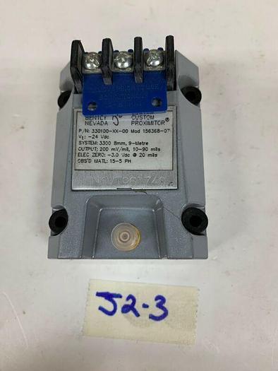 New Bently Nevada 330100-XX-00 Mod 156368-07 Custom Proximitor