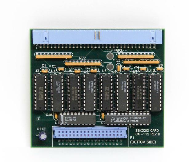 Used Sierratherm CAI-112 Rev B SBX3210 Interface Card (5451)