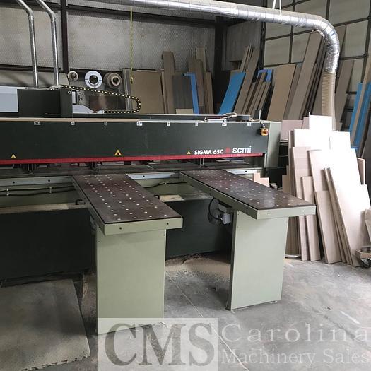 Used 1998 SCMI Sigma 65C Panel Saw
