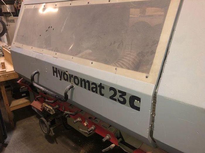 Used Weinig Hydromat 23C