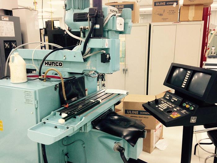 Used 1994 HURCO KM-3P CNC Knee Type Milling Machine