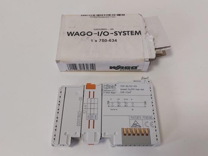 Inkremental-Encoder-Schnittstelle, 750-634, Wago neu