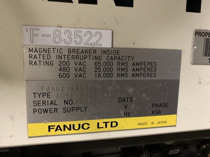 FANUC RJ3iC (R30iA) CONTROLLER ONLY FOR M900iA/350 OR 260
