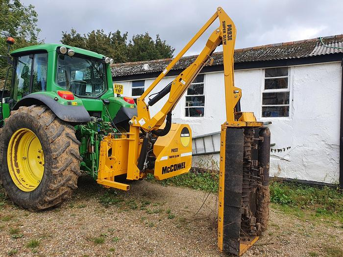 Used McConnel PA93E Hedge Cutter