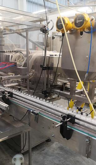 Used KING KT340 10hd Automatic Liquid Filling Line