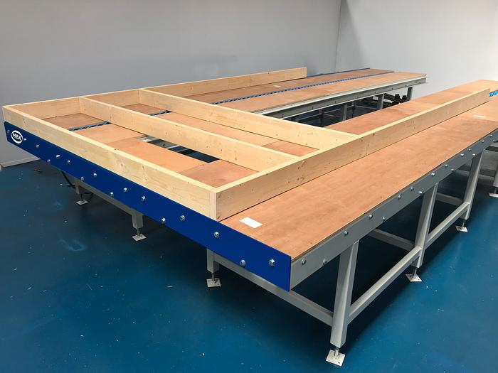 Modular Framing Tables For Framing & Boarding Of Panels