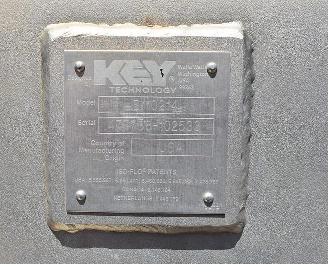 USED KEY ISO-FLO VIBRATORY FEEDER