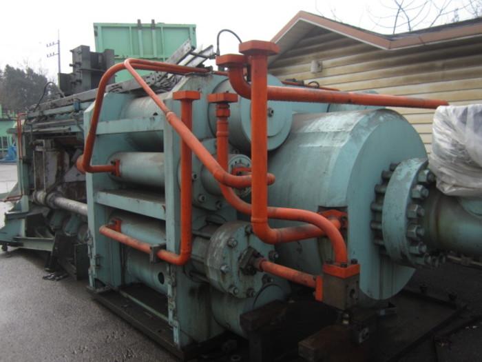 2200 Ton Clecim Aluminium Extrusion Press Billet Heater