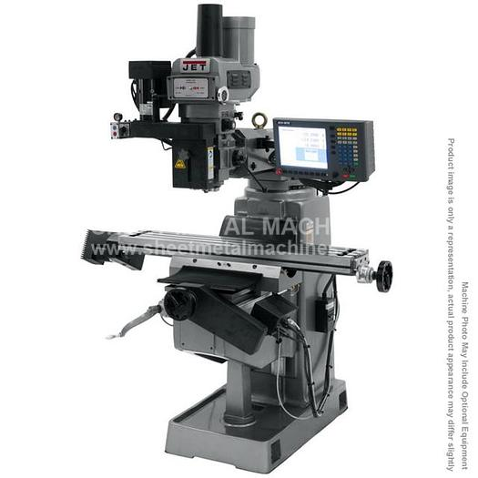 JET JTM-949EVS/230 Mill With 2-Axis ACU-RITE G-2 MILLPWR CNC, 690575