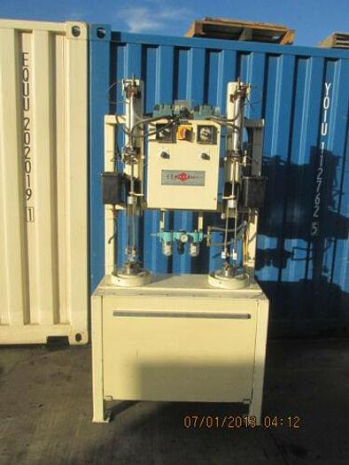 Used RADCO (SONICAM) GLASS BLOW PLUNGER POLISHING MACHINE FOR GLASS MOLDS, ETC.