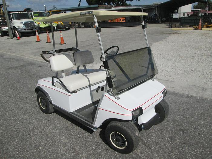 Club Car Golf Cart With Charger