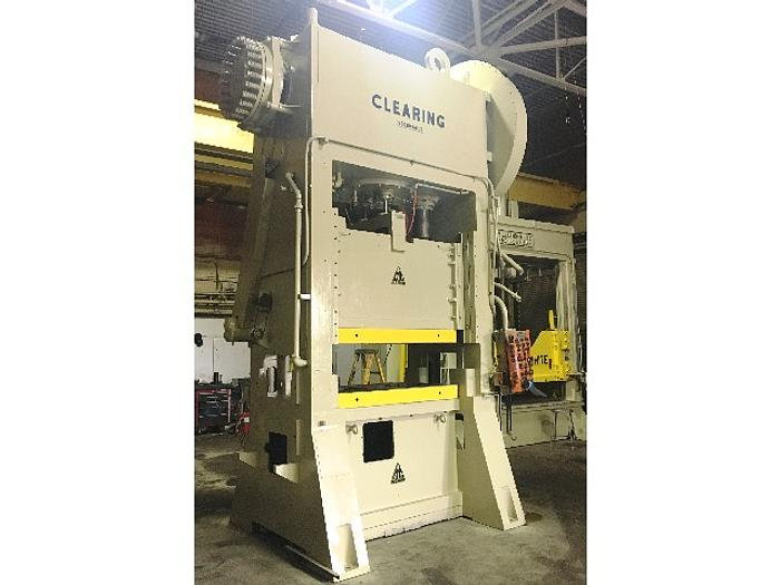 "200 ton Clearing 60""x30"" Used Stamping Press"