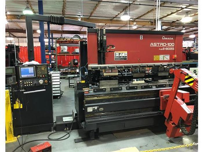1997 88 Ton Amada Astro-100 FBD-III-8025 CNC Robotic Press Brake