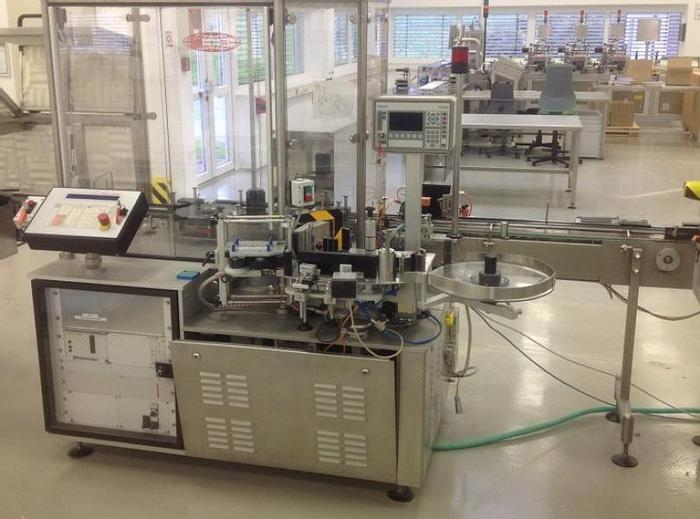 Used M 11558 D - Labeller BAUSCH + STRÖBEL ESF 1020 for Round Objects