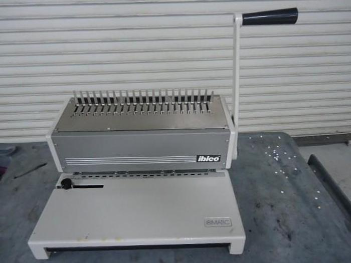 Used Ibico Ibimatic Plastic Comb Binding Machine