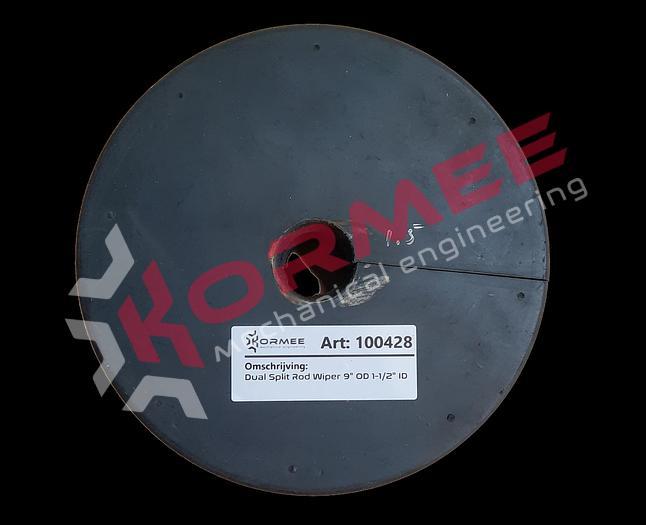 Kormee Dual Split Rod Wiper 38mm ID x 229mm OD