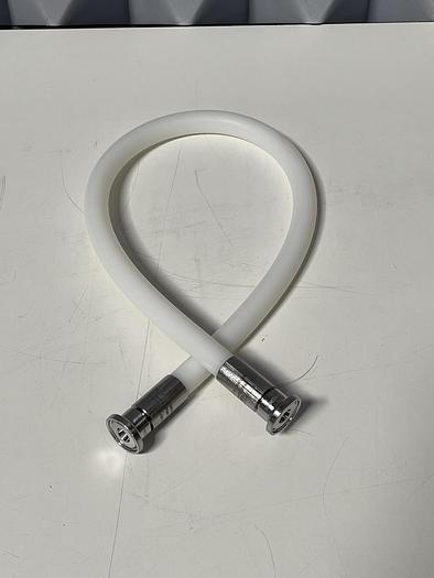 """Used 28"""" Silicon Hose w/ 1"""" Sanitary Fittings"""