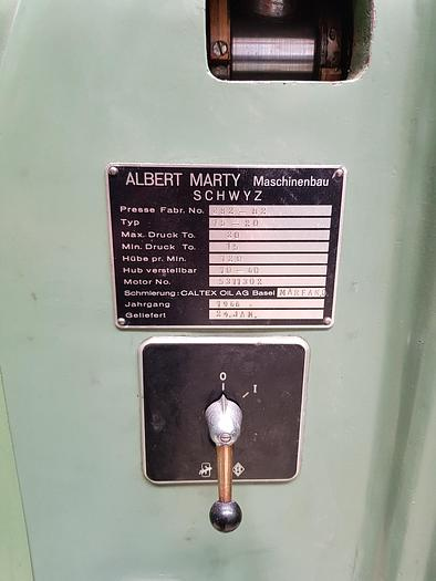 1966 Albert Marty Maschinenbau, Schwyz-CH 15-20