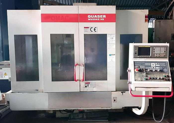 Quaser MV204 II HS Vertical Machining Center