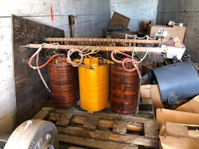 HB18255 P&H shovel 2300 or 2800 main transformer coil #75Q15