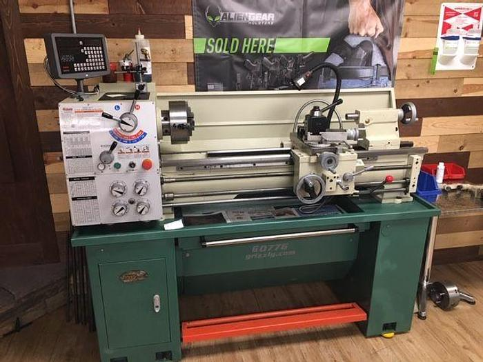 "Used Grizzly Grizzly G0776 - 13"" x 40"" Gunsmithing Lathe with DRO"