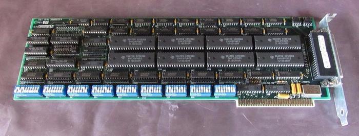 Used DBI A/N 30000354 REV. M Digi Board Serial Adapter Card / Board (3578)