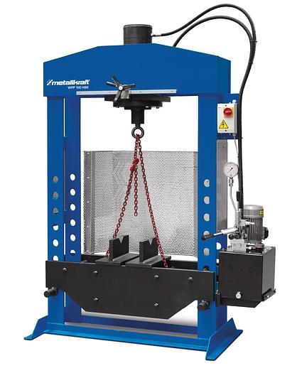 Gebraucht 2020 Metallkraft WPP100 HBK schwere hydraulische Werkstattpressen