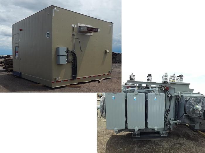 STI 3503B Substation, 5000 KVA 35kv/600v transformer, 6000A output