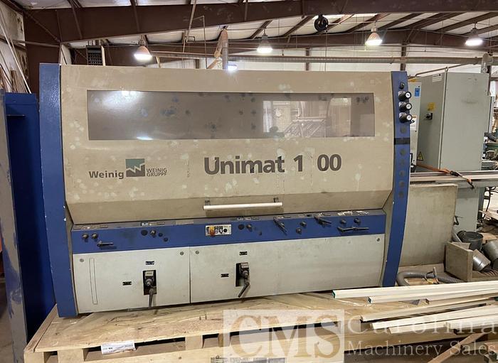 Used 2003 Weinig Unimat 1000