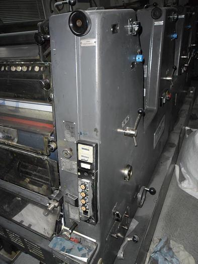 Used Heidelberg GTOVP 46