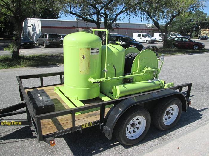 Ansul Twin Agent Suppression System And Trailer, ARFF Skid Unit