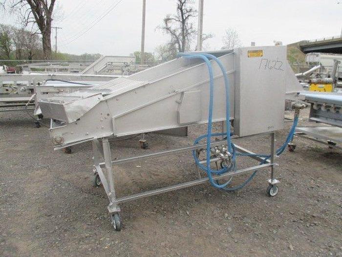 Used McKinney Fabrication Triple Flip Conveyor