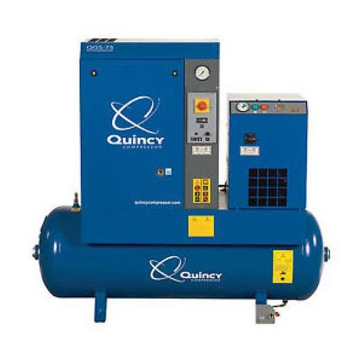 Used Quincy QGS-10 Air Compressor System