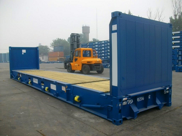 """40 'Container 8'6 """"Flush Folding Ends"""