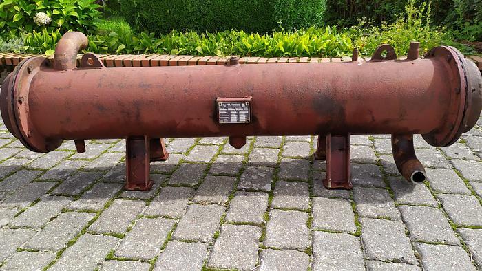 Used Wymiennik płaszczowo-rurowy (wodna chłodnica oleju)